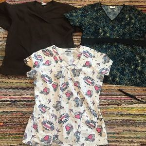Other - Three size medium scrub tops
